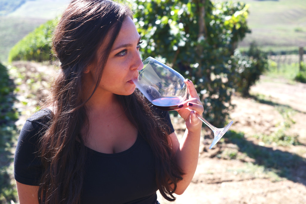 Madison Meltzer In the Vineyard