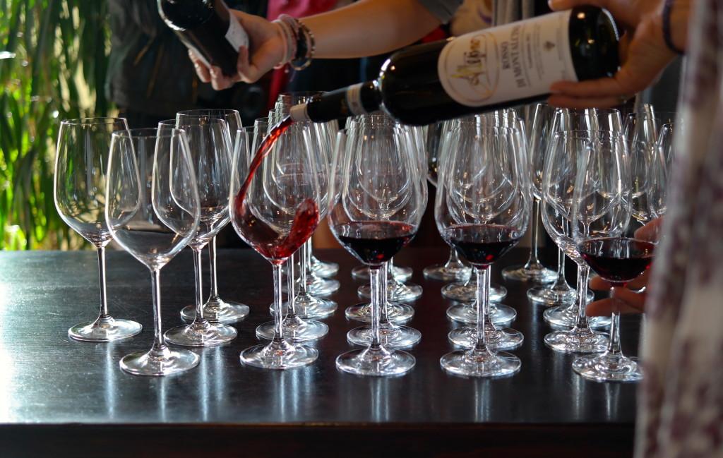 Madison Meltzer Wine Glasses