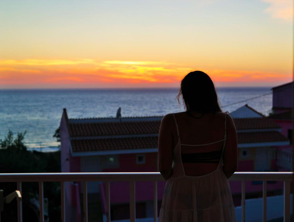 Madison Meltzer View of Corfu